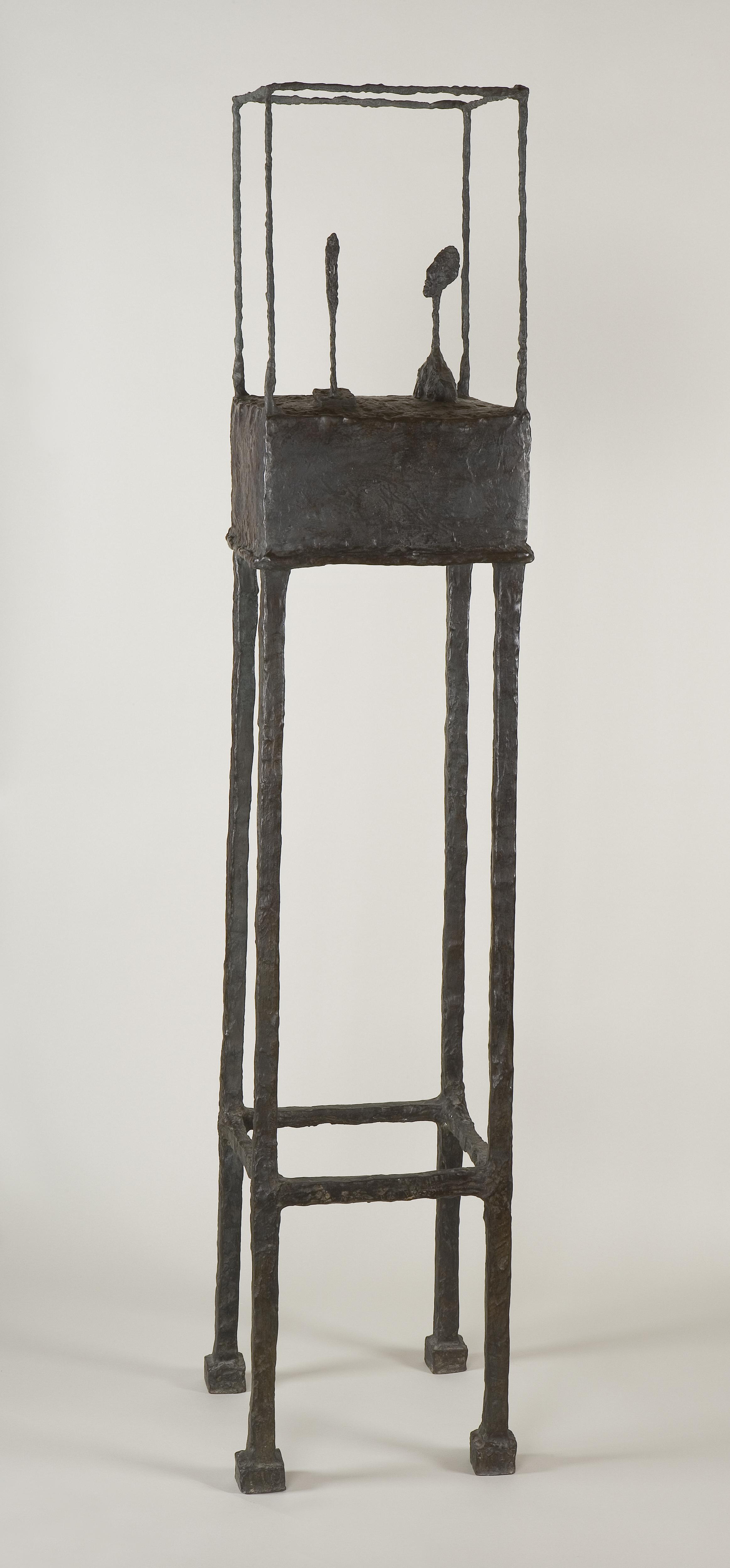 Alberto Giacometti: The Cage (Klec), 1950-1951. Foto: Fondation Giacometti, Paris